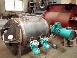 carbon steel plough mixer