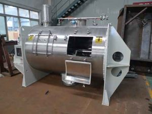 stainless steel plough mixer